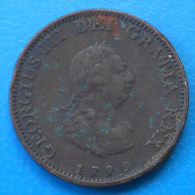 Grande Bretagne Great Britain 1 Farthing 1799 Km646 - 1662-1816: Ende 17. Jh. - Anfang 19. Jh.