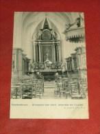 HAKENDOVER - HAEKENDOVER   -  Binnenste Der Kerk  - Intérieur De L´ Eglise    -   1910   -  (2 Scans) - Tienen