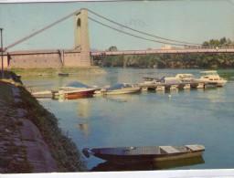 Chalonnes-sur-Loire.. Le Pont Sur La Loire.. Bateaux.. Barques.. Batellerie.. Navigation - Chalonnes Sur Loire