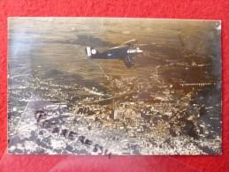 AVION CARTE PHOTO VUE AERIENNE - Flugzeuge