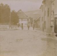 Carte Photo  Stereo  Villard De Lans 1907 - Villard-de-Lans
