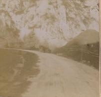 Carte Photo  Stereo  De Villard De Lans A Sassenages En Tacot   1907 - Villard-de-Lans
