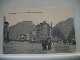 CPA - GRENOBLE - AVENUE DE VIZILLE ET COURS ST ANDRE -  J. MAS A LA HAVANE GRENOBLE - Grenoble