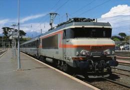 RU 0807 - Train - Loco BB 22274 En Gare - LE CROISIC - Loire Atlantique 44 - SNCF - Le Croisic
