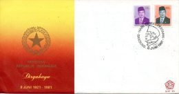 INDONESIE. N°917-8 De 1981 Sur Enveloppe 1er Jour (FDC). Président Suharto. - Indonesien