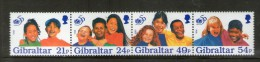 GIBRALTAR 1996 UNICEF   YVERT N°  NEUF MNH** - UNICEF