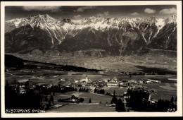 Cp Sistrans Tirol Österreich, Gesamtansicht Des Ortes, Fliegeraufnahme - Autriche