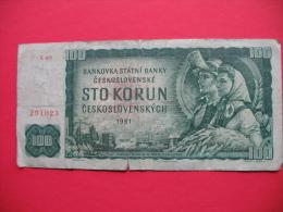 100 Korun - Tchécoslovaquie