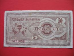 50 DENAR - Macedonia