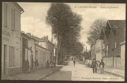 LANGON Route De Bordeaux Pub. Soubes Bordeaux (Gautreau) Gironde (33) - Langon