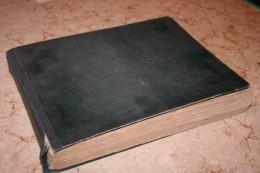 VIEL ALBUM DE TIMBRES ANCIENS AVEC TIMBRES DE L' EUROPE OBLITERES ( SUCCESSION )
