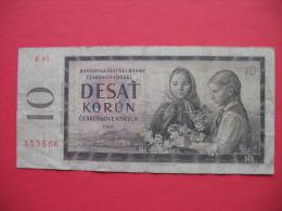 10 Korun - Tchécoslovaquie