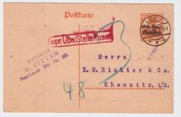 "Polen, Dt. Besetzung Polen, 1918, GA "" Lodz "",    #77 - Covers & Documents"