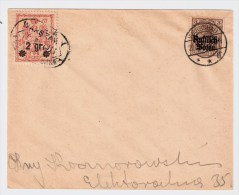"""Polen, 1915, Warschau Mit Stadtpost """",    #78 - ....-1919 Übergangsregierung"""