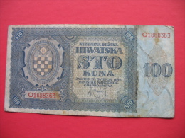 100 KUNA - Croatie