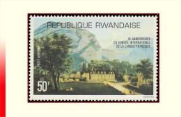 Rwanda PA 0011**  Conseil de la langue fran�aise  MNH