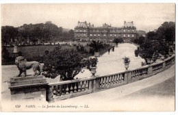 CP, 75, PARIS, Le Jardin Du Luxembourg, Vierge - Parks, Gardens