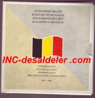 FLEURS DE COIN M/MS13 1982-88 FR/FL plus une m�daille en maillechort 10.000 exemplaires
