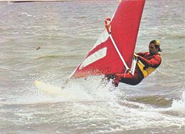 23988  Planche à Voile -essai Sur La Base De Vitesse-MX 6260 Jos  -voile Bretagne Sport - - Voile