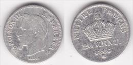 20 CENTIMES NAPOLEON III 1866 BB (voir Scan) - E. 20 Centimes