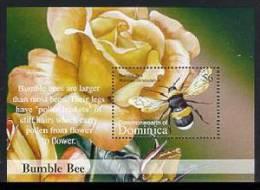 DOMINICA   2383  MINT NEVER HINGED SOUVENIR SHEET OF BUTTERFLIES - Butterflies