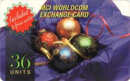 *ITALIA: MCI WORLDCOM* - Scheda Usata - Christmas