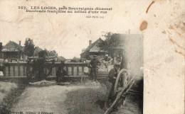 LES LOGES, Près BEUVRAIGNES - Barricade Francaise - Otros Municipios