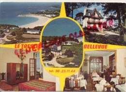 22 -   TREVOU- TREGUIGNEC - HOTEL RESTAURANT - LE TRESTEL BELLEVUE - TRELEVERN - Autres Communes