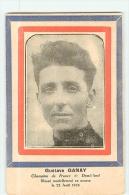 Gustave GANAY - Champion France Demi-Fond , Blessé Mortellement En Course Le 22 / 08 /  1926 - 2 Scans - Ciclismo
