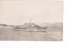 Photo Originale Batiment Militaire  Torpilleur Orage Coque 13 - Bateaux