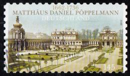 Timbre   D'  ALLEMAGNE 2012  ' '  Yvert  2741  ' '   145 C.. '' Zwinger '' , Palais Des Rois De Saxe, à Dresde - Gebraucht
