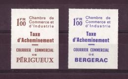 CCI ,taxe D'acheminement,PERIGUEUX Et BERGERAC, COTE 200€ - Huelga