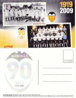 CP FOOTBALL   FC VALENCIA (ESPAGNE) 1919-2009 - Habillement, Souvenirs & Autres