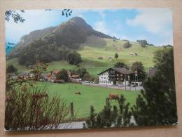 38638 PC: SWITZERLAND: Landgasthof Edelweiss. Familie Dorig. 9057 Schwende-Weissbad Bei Appenzell. - Schweiz