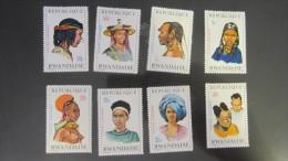 Ruanda MNH ** 1971 Mi. 439-446