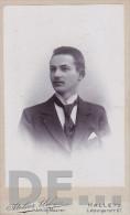 CDV Man Herr Atelier Urban Halle  1900 - Non Classificati