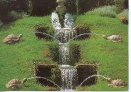 """Vendeuvre : Les Jardins D'eau """"surprises"""" La Cascade Des Tortues - Musée Et Jardins Du Chateau - Other Municipalities"""