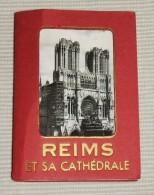 ALBUM AVEC  12 FOTOS DE REIMS ET SA CARTÉDRALE - Reims