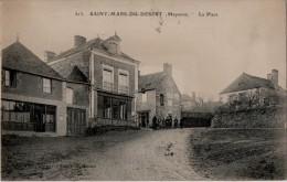 Saint Mars Du Désert  La Place - France