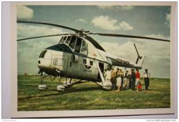 USSR. MI-4 Passenger Helicopter Standing In Aerodrome. 1960s - Elicotteri