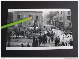 PHOTO PANORAMIQUE  11,5X 18 Cms     DEPARTEMENT  N° 71 SAONE ET LOIRE ..CHALON........LE CARNAVAL !    ! - Reproductions