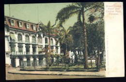 Cpa Du Panama Grand Hôtel Et Central Park Panama    JUI17 - Panama