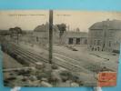 51 - Courcy - Gare Et Bureau De La Verrerie - 1928 - France