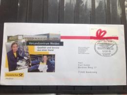 Duitsland / Germany - Cover Groetzegel Deutsche Post 2001 - Brieven En Documenten