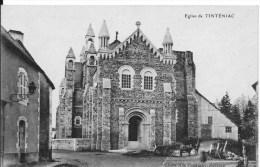 TINTENIAC : Eglise - Belle CPA Non Utilisée - Frankreich