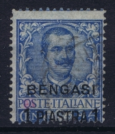 Italy: Levant Bengasi  Sa Nr 1  Used  Signed/ Signé/signiert/ Approvato - 11. Foreign Offices