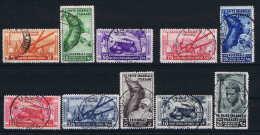 Italy:  Sa Nr  32 - 41 Emmisioni Generali 1933 Used - Italien