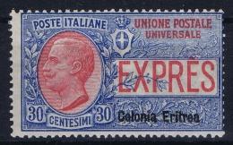 Italy: Eritrea Sa.nr. 2 Espresso MH/* - Eritrea