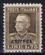 Italy: Eritrea Sa.nr. 137 MH/*  1928 - Eritrea
