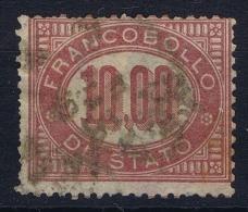 Italy: Servizio Nr 8, Used, Mi DM Nr 8, - Servizi